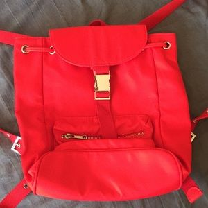 New Forever 21 red backpack